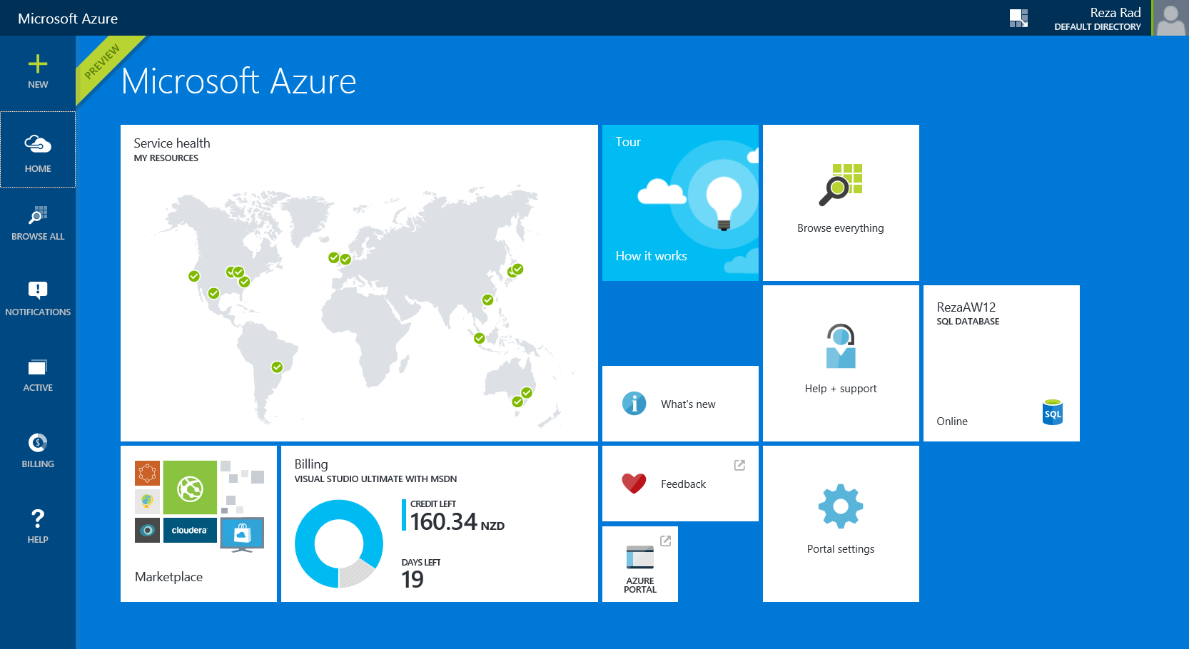 100 New Azure Management Portal And Ad